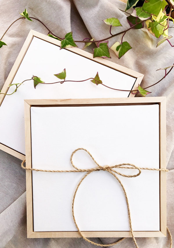 Materials Kit: Two Mini Canvases