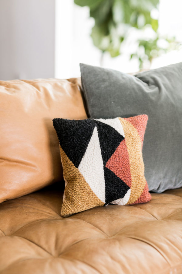 Materials Kit: A Punch Needle Pillow Kit