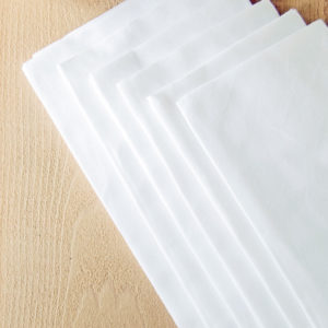 Materials Kit: White Cloth Napkins