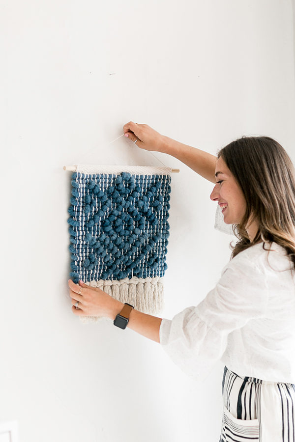 Pibione Tapestry Weaving | Lindsey Campbell