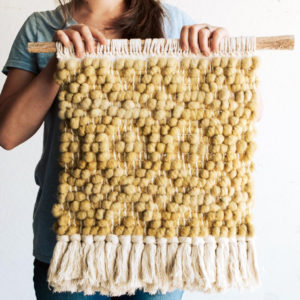 Pibione Tapestry Weaving with Lindsey Campbell | Curry