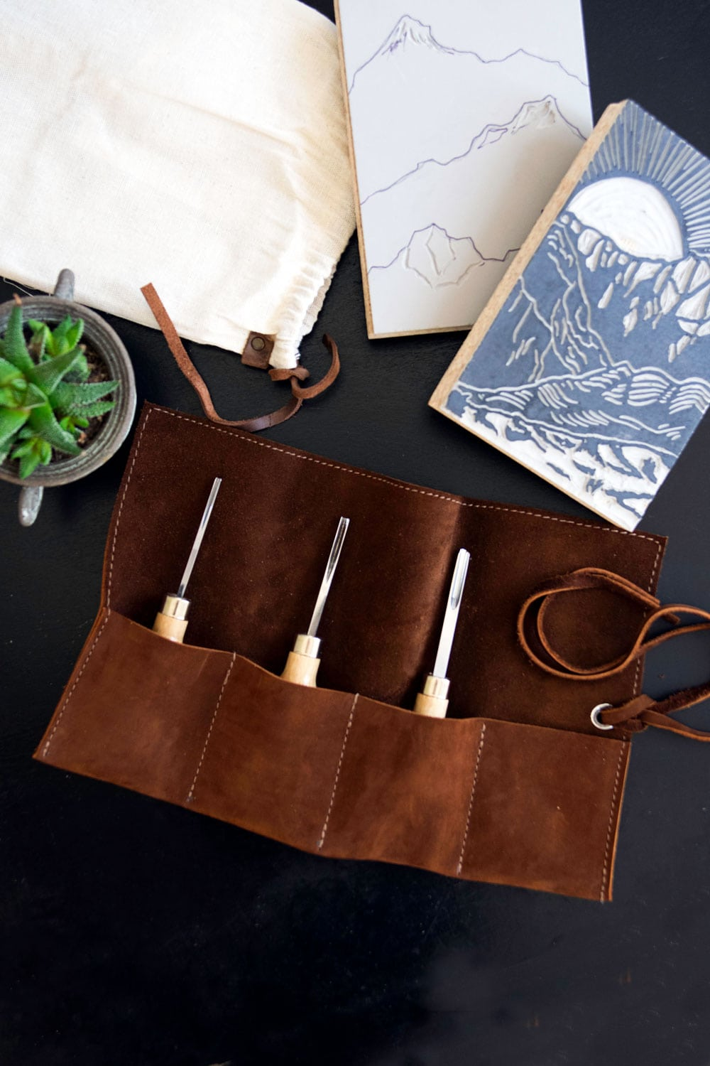 The Printmaker's Carving Kit | Aftyn Shah
