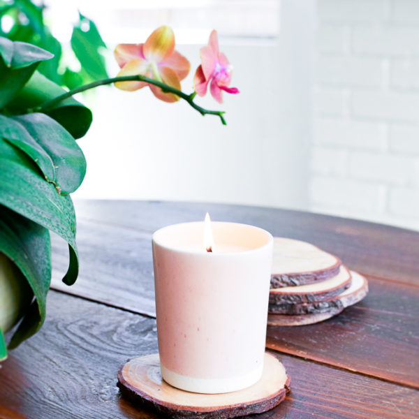 A Handthrown Ceramic Vessel by Paper & Clay   Scentblending & Candle Making