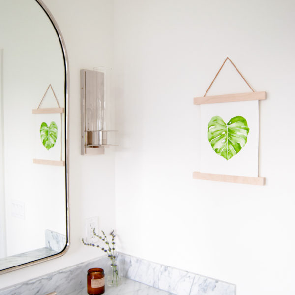 Custom Maple Hanger Frames | The Crafter's Box