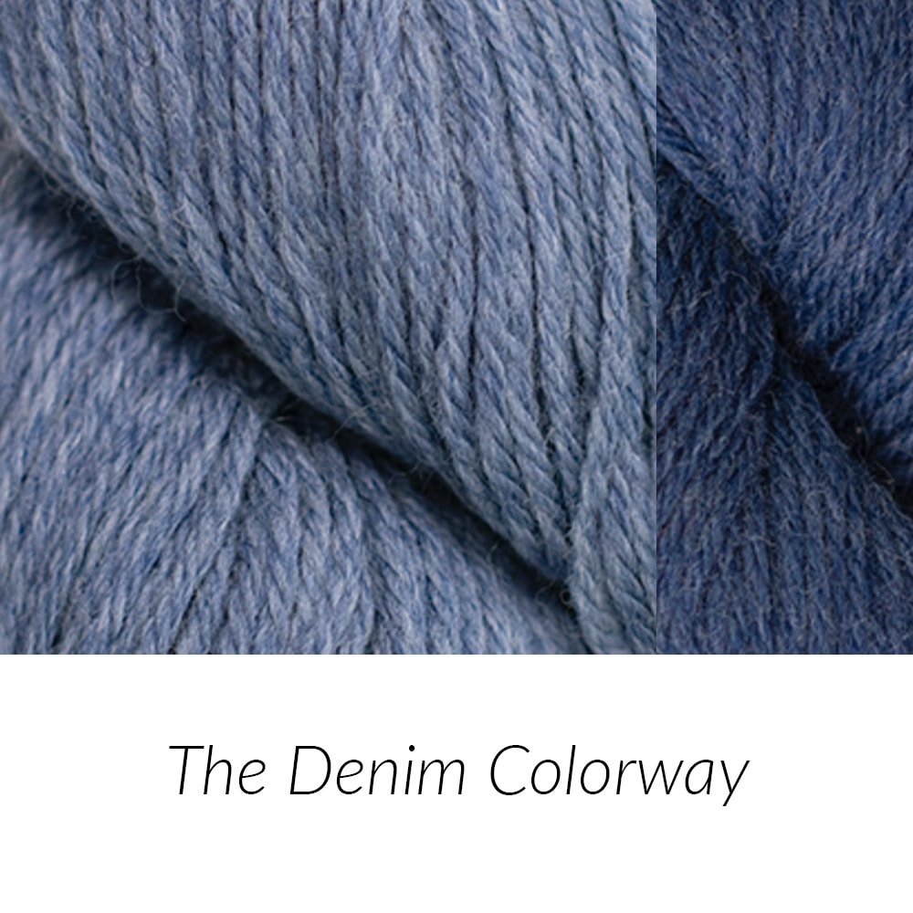 A Denim Colorway | The Crafter's Box
