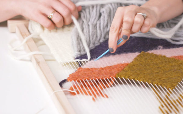 Weaving with Geometric Shapes   The Crafter's Box