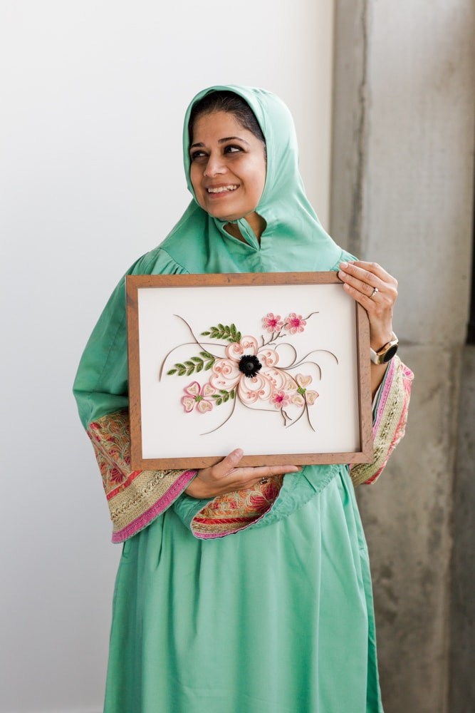 A Modern Paper Quilling Workshop with Zahra Ammar | The Crafter's Box
