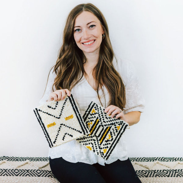 The Crafter's Box | Locker Hooking | Lindsey Campbell