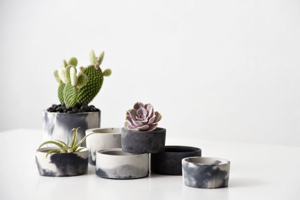 Hand-Poured Concrete   Christie Lothrop   The Crafter's Box