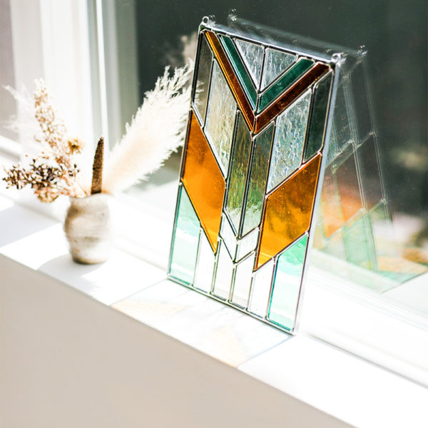 Craftsman-Style | Premium Stained Glass | Lauren Earl