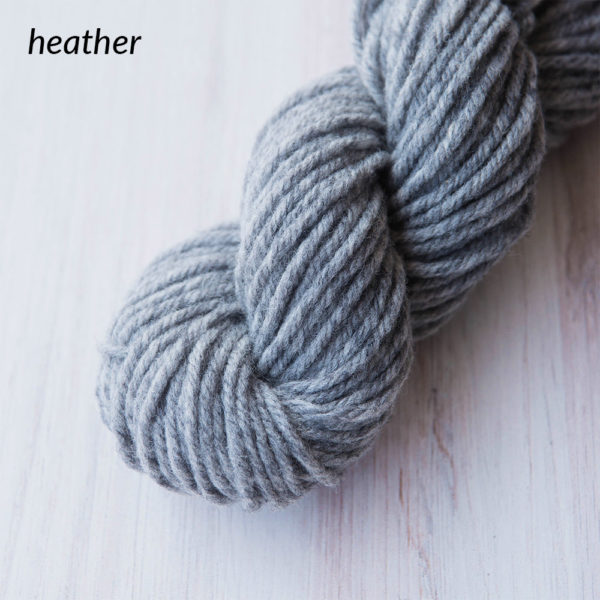 Heather | Wool Yarn Single Skeins | The Crafter's Box