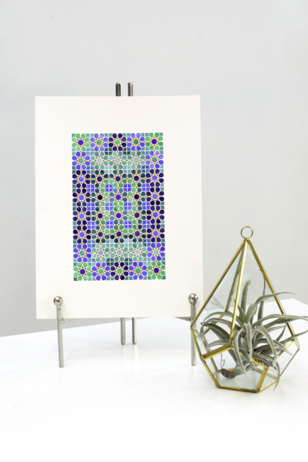 Eastern Geometric Drawing & Painting | Zahra Ammar | Crafter's Box