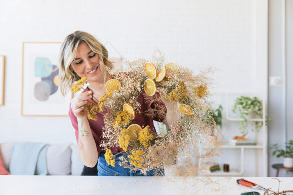 Premium Dried Wreath Making   Natalie Gill   Native Poppy   The Crafter's Box
