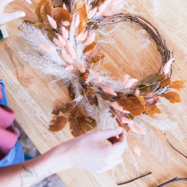 Premium Dried Wreath Making | Natalie Gill | Native Poppy | The Crafter's Box