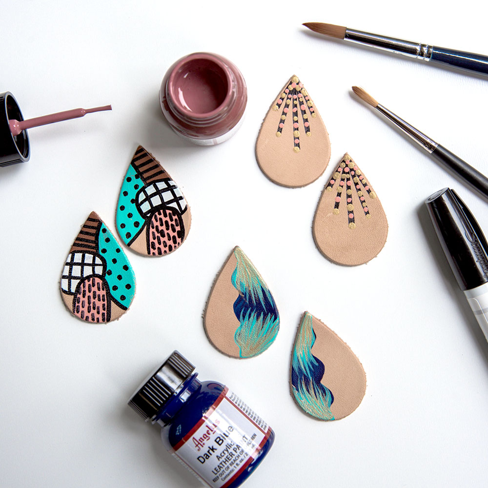 Painted Leather | Kel Cadet-Lyons | Crafter's Box