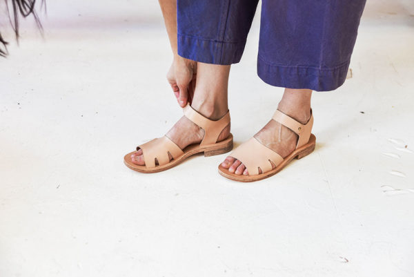Leather Sandal Making   Rachel Corry   Crafter's Box