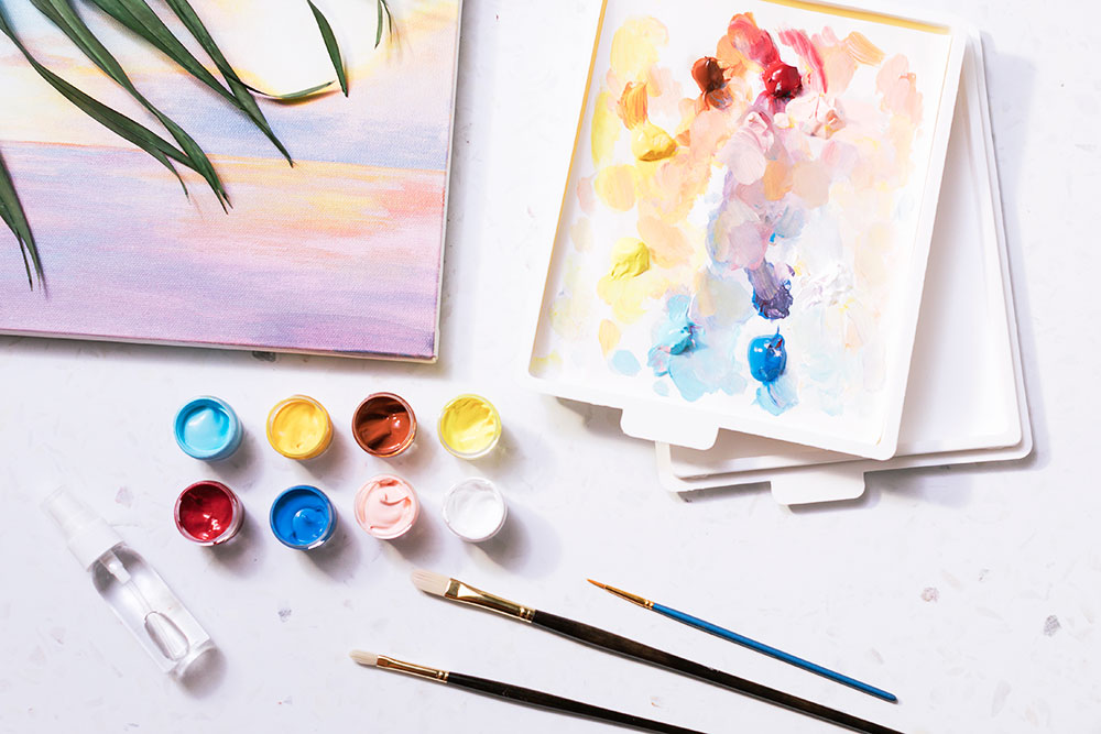 Painting the Sky | Stefanie Bales | Crafter's Box