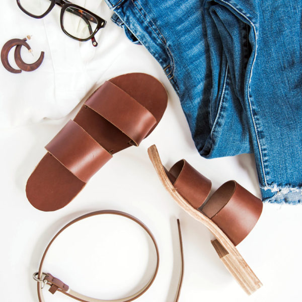 Leather Sandal Making | Rachel Corry | Crafter's Box